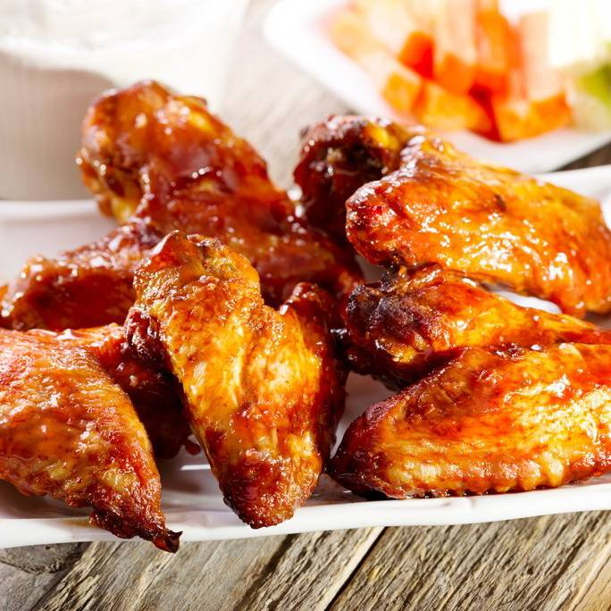 Крылышки «баффало» - пошаговый рецепт с фото |  блюда из курицы