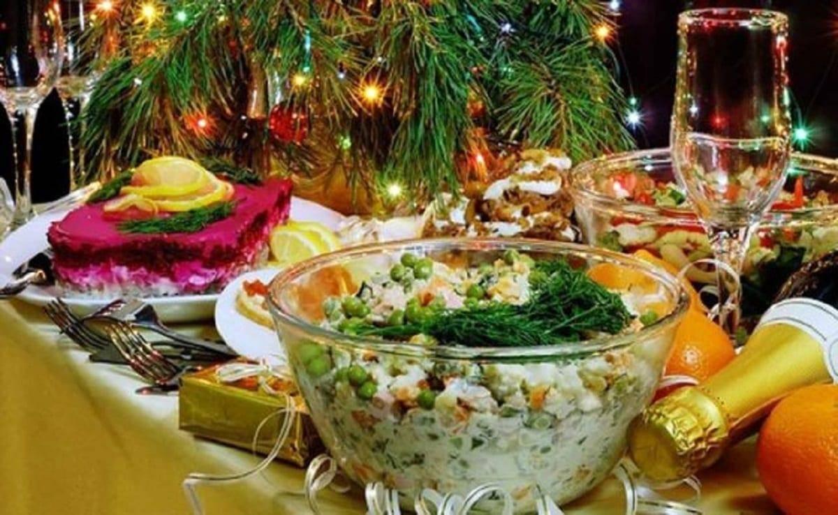 Салаты на рождество 2020 года: самые вкусные рецепты с фото