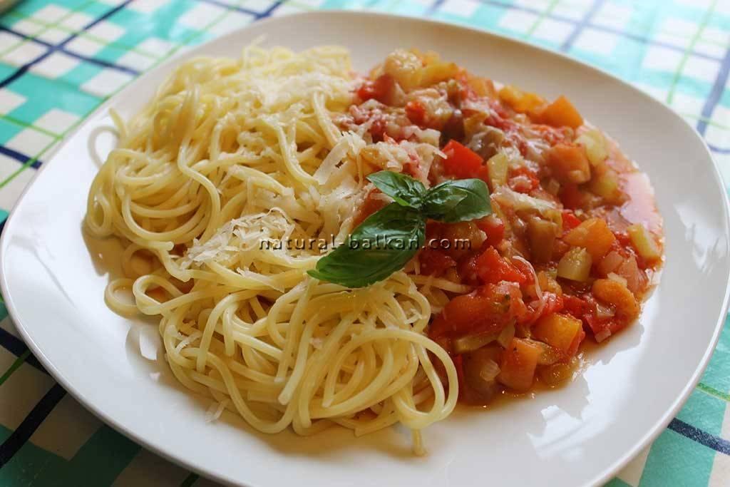 "Паста со свежими помидорами ""Итальяно"""