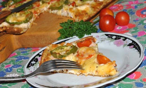 Тесто для пиццы с ржаной мукой