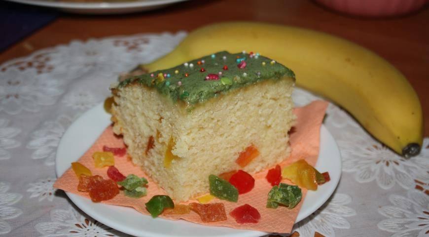 Мандариново-лаймовый кекс
