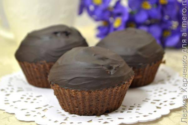 Как приготовить постную шоколадную глазурь за 2 минуты