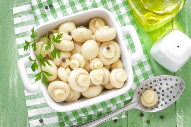 Закуски с грибами - рецепты