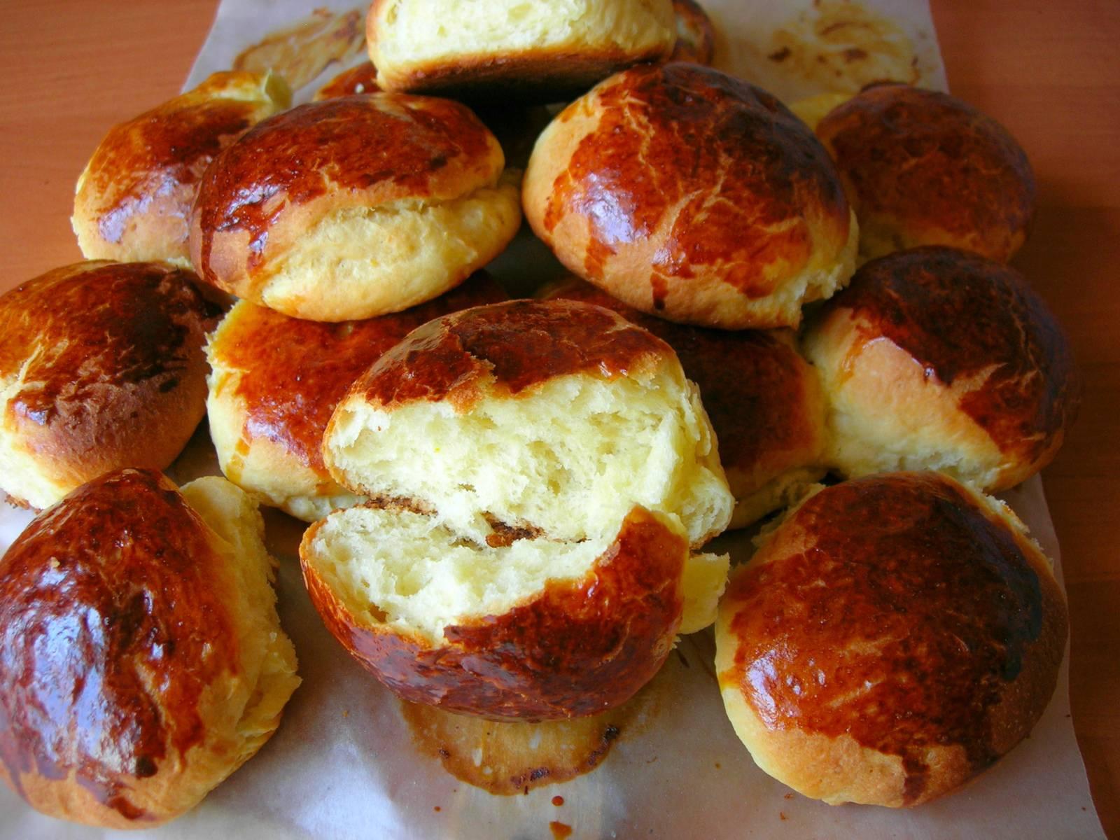 Булочки к чаю,  сдобные булочки с начинкой    | вкусные рецепты
