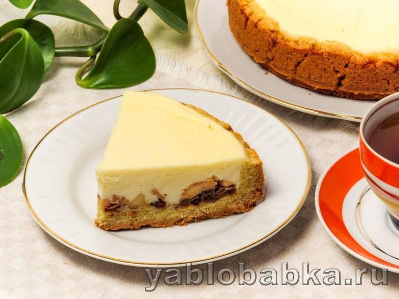Творожный пирог с яблоками: рецепт приготовления в домашних условиях