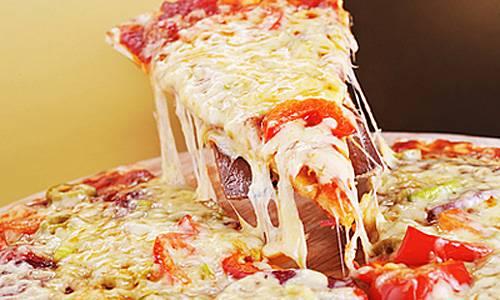 "Пицца грибная ""Бианко"" на тонкой основе"