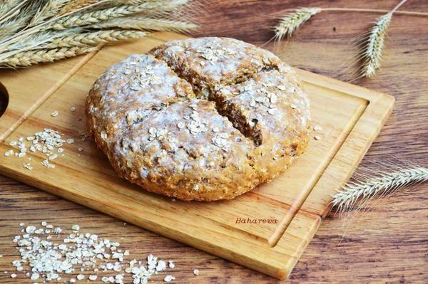 Ирландский содовый хлеб на кефире