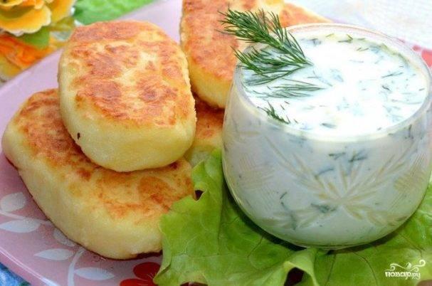 Вкусные бабушкины ватрушки с картошкой