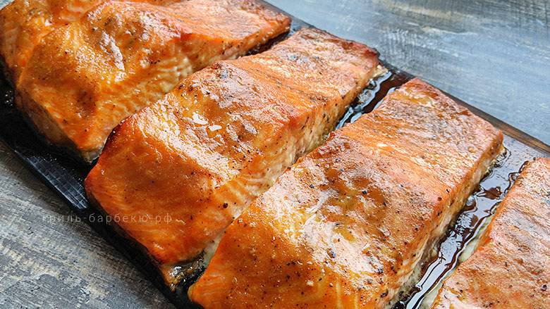 Рыба на сковороде-гриль, рецепты (форели, лосося, окуня)