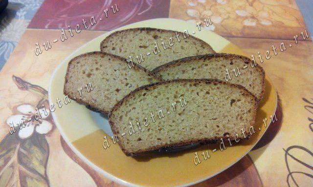 Ржаной хлеб по дюкану рецепт