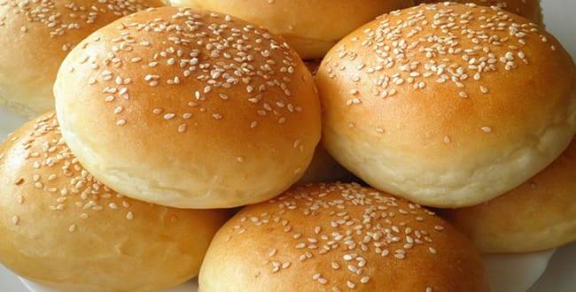 Булочки для гамбургеров в домашних условиях