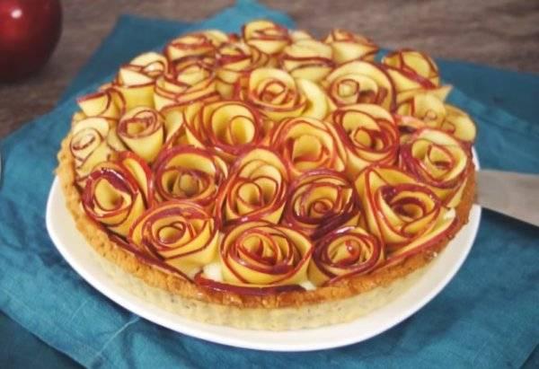 Итальянский яблочный пирог с заварным кремом - 28 пошаговых фото в рецепте