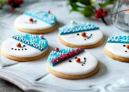 7 оригинальных идей для новогоднего печенья