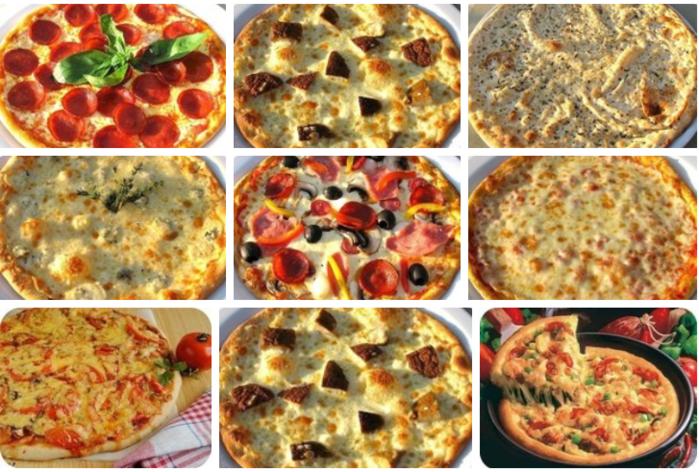 "Оладьи ""мини-пицца"" на кефире на сковороде"