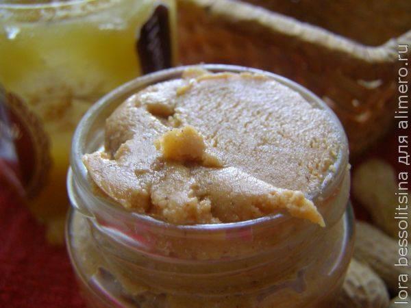 Арахисовая паста с медом и корицей