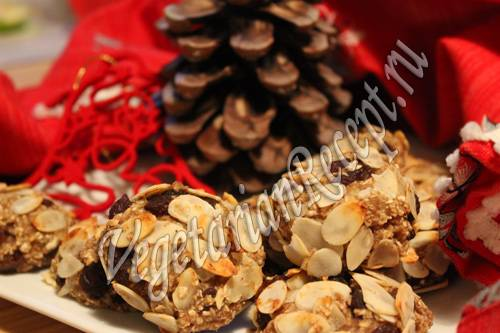 Овсяное печенье с кэробом рецепт