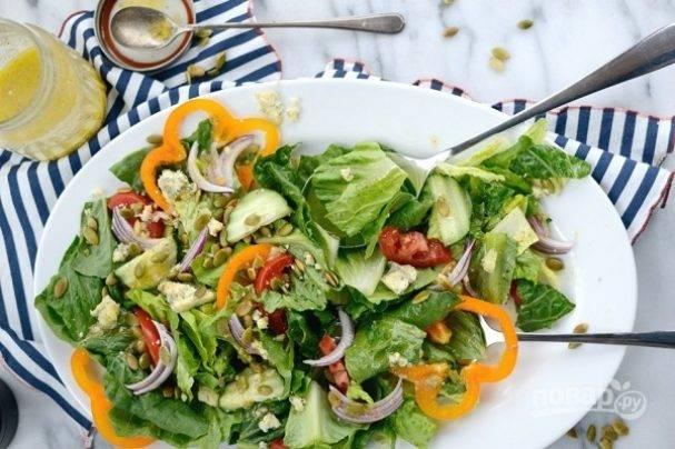 Соус для овощного салата