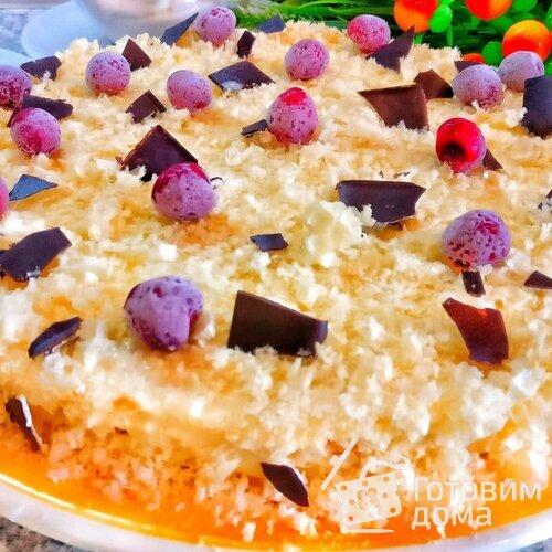 Кулинария мастер-класс рецепт кулинарный желейный торт без выпечки с апельсиновым вкусом продукты пищевые
