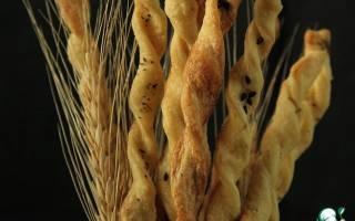 Гриссини –  как приготовить итальянские хлебные палочки ?