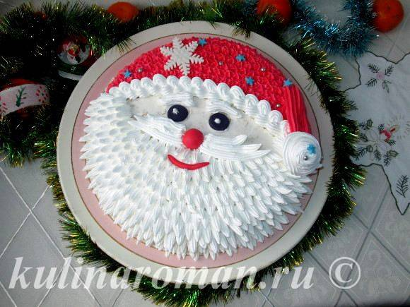 Дед Мороз. Выпечка для детей