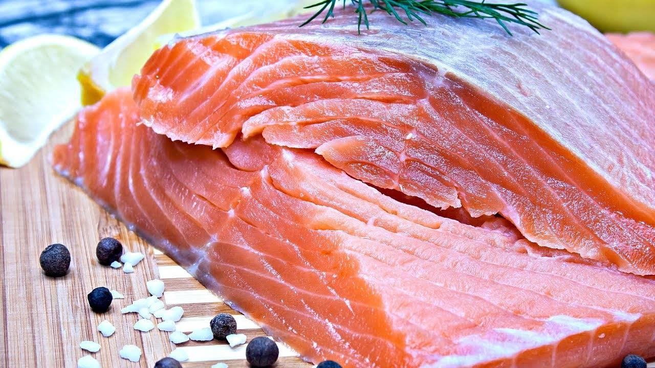Соленая красная рыба за 2 часа