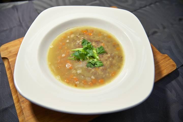 Шотландский чечевичный суп