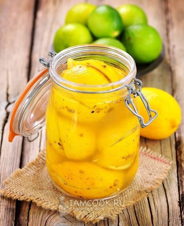 Лимонные настойки на водке, самогоне и спирте