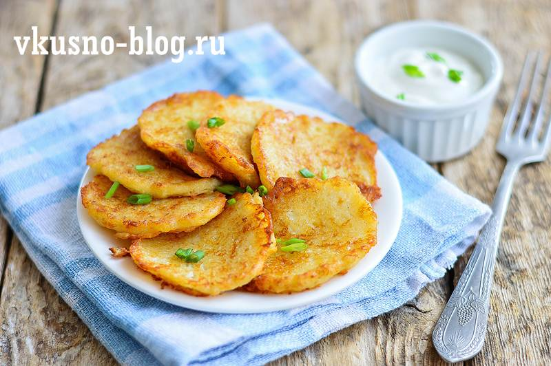 Драники с сыром – 6 рецептов