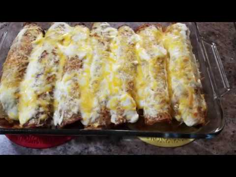 Картофельные блинчики с мясной начинкой