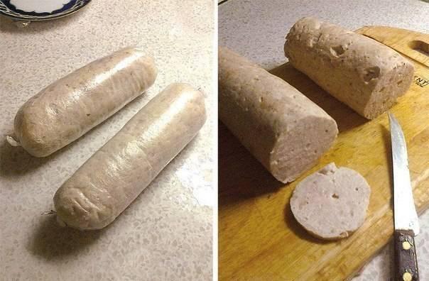Вкуснейшая домашняя колбаса в кружке. простые рецепты с фото.