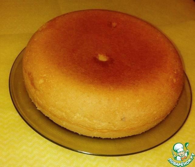 Тыквенный пирог с творогом в мультиварке
