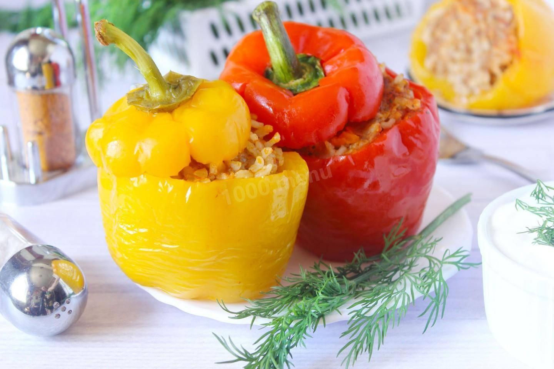 Вкусные и аппетитные фаршированные перцы с фаршем и рисом: рецепт