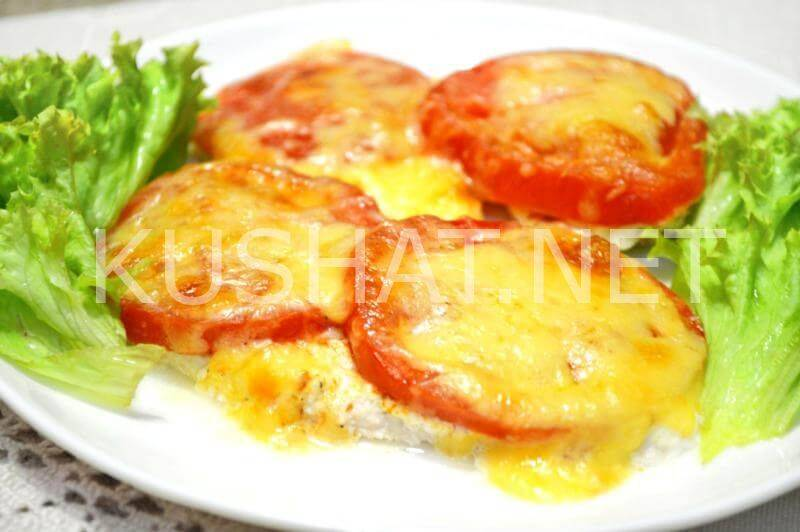 Куриное филе с помидорами и сыром, в духовке – рецепт с фото