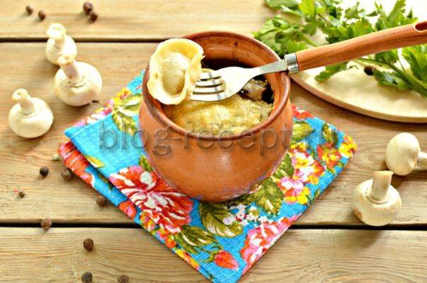 Пельмени в горшочках в духовке - оригинальные идеи приготовления привычного блюда