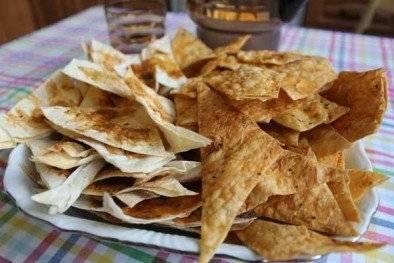 Как сделать чипсы из лаваша - 7 пошаговых фото в рецепте