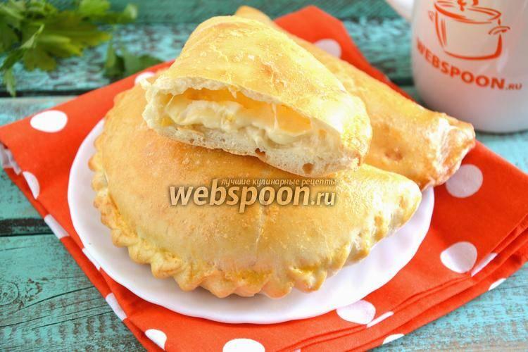 Быстрые пирожки с сырной начинкой