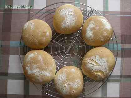 Булочки сдобные с семенами кунжута и льна - 6 пошаговых фото в рецепте