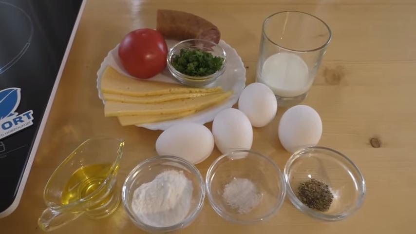 Как приготовить омлет