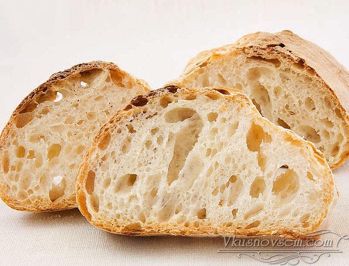 Чиабатта. рецепт итальянского хлеба, калорийность, как приготовить в духовке, хлебопечке