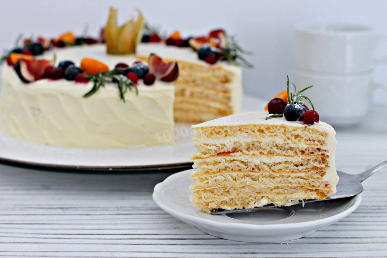 Карамельный торт домашний
