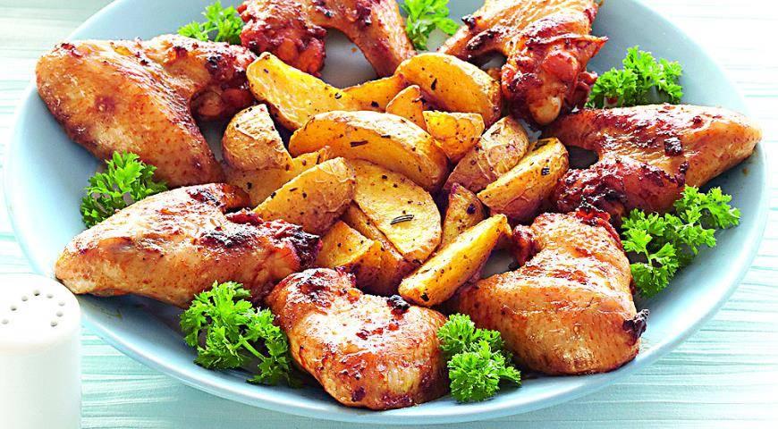 Крылышки с хрустящей корочкой в духовке - рецепты маринада для запеченных крылышек в кляре или панировке