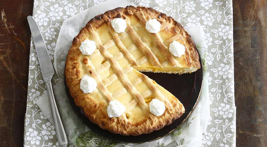 Итальянский пасхальный пирог