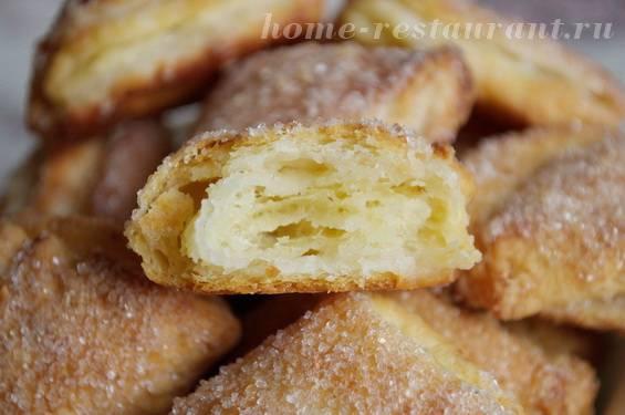 Хрустящее печенье с джемом
