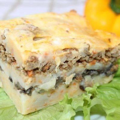 Картофельная запеканка. рецепты от сибмам с фото