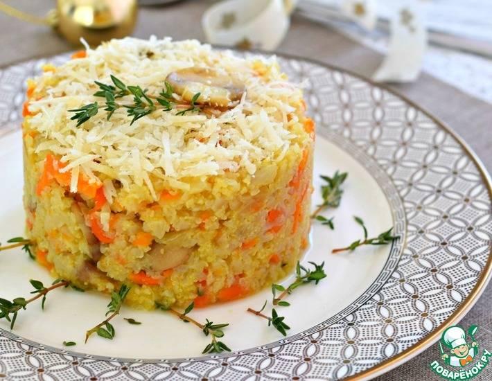 Сырный суп из цветной капусты