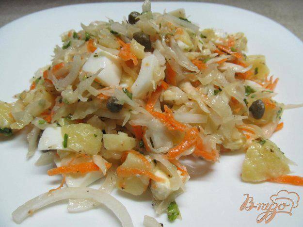 Салат из квашеной капусты - вкусные рецепты закуски на каждый день