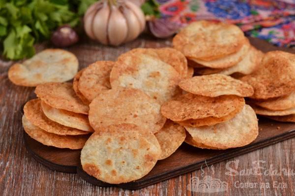Как сделать чипсы из лаваша в духовке за 5 минут