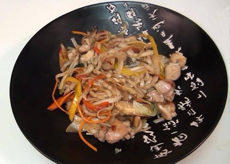 Лапша удон — лучшие рецепты. как правильно и вкусно приготовить лапшу удон в домашних условиях.