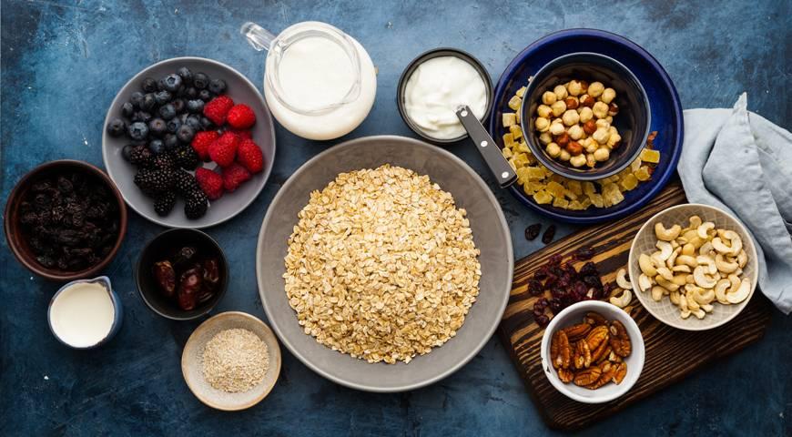 Оригинальный способ получения пользы для организма — вкусные мюсли на завтрак