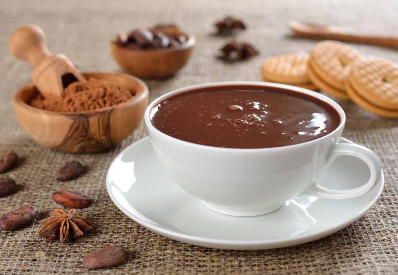 Кофейные бискотти с орехами и шоколадом